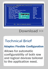 Download Adaptec Flexible Configuration Technical Brief