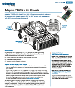 Adaptec 71605 in 4U Chassis