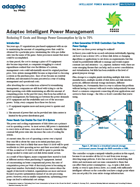 Intelligent Power Management